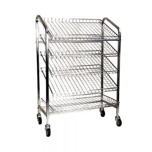 5 tier bread trolley