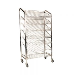 7 tier bread trolley