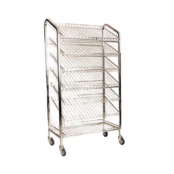 7 tier bread trolley