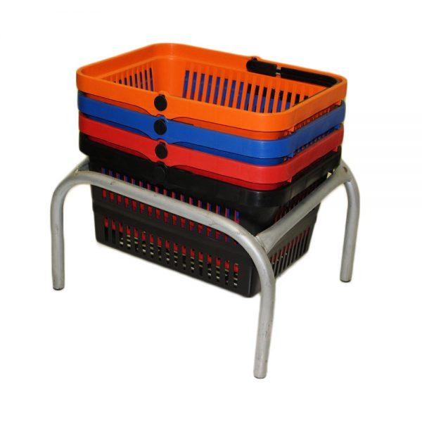Jumbo Basket Stand (JBS)