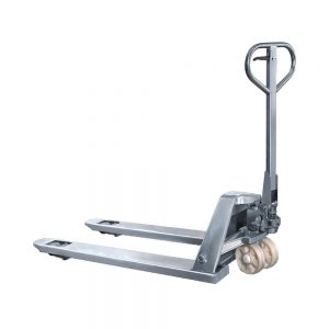 Stainless Steel Hand Pallet Truck Nylon (CBY25:SS)