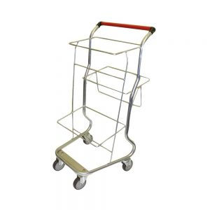 triple basket trolley